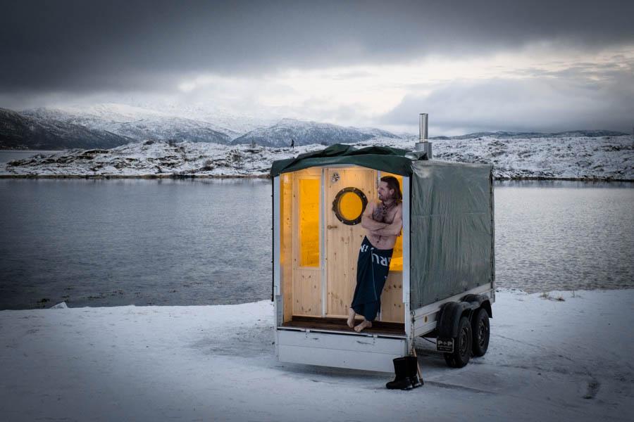 Mobile Saunas Tromsø